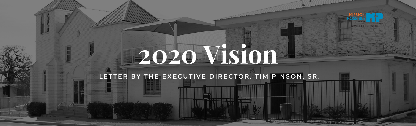 2020 Vision: A Letter by the Executive Director