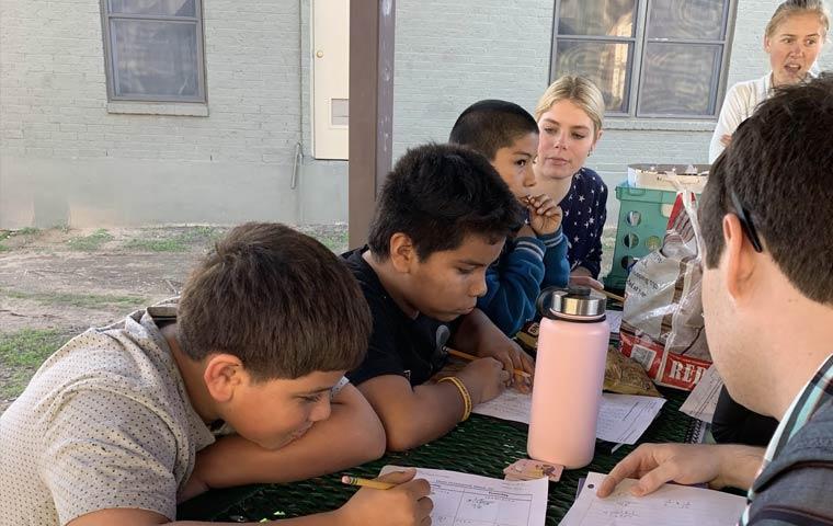 tutoring young kids